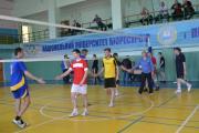 """Змагання спартакіади """"Здоров`я"""" НУБіП України з волейболу, квітеь 2016 р."""