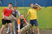 Підготовка майданчику для змагань Аматорської волейбольної ліги НУБіП України