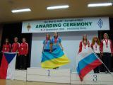 2008.09 Корея команда України на вищій сходинці п`єдисталу пошани