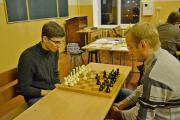 У фінальній грі за 1-2 місця на третій дошці грають Богдан Аврамчук (ф-т ЗВ) і Олександр Шеметун (агробіологічний ф-т).