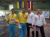 Дмитро і Костянтин Черненко - призери чемпіонату світу з гирьового спорту 2009 р.