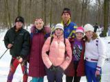 Команда університету з лижних гонок посіла 3 місце на ВСІ аграрних ВНЗ України (2008)