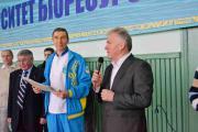 З вітальним словом до учасників змагань звернувся ректор Станіслав Ніколаєнко
