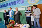 Призи призерам змагань надали проректор Сергій Кваша і профком студентів та аспірантів універииету