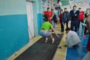 Змагання зі стрибків у довжину з місця