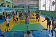 Дев`ятий вид десятиборства - змагання з тенісу настільного