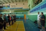 СЗ вітальним словом до учасників змагань звернувся Сергій Кваша проректор з навчальної і виховної роботи університету