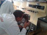 Лабораторне заняття з визначення вмісту білка в молоці рефрактометричним методом