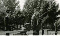 Прийняття присяги в армії
