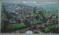 Старовинна карта м. Чернігова