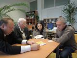 Зустріч з директором Інституту геодезії, дистанційного зондування та інформації про землі д-ром Клементом Атзбергером