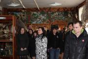 Слухачі підвищення кваліфікації в музеї анатомії факультету ветеринарної медицини НУБіП Україн