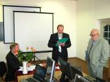 Голова підсекції професор Сухенко Ю.Г., секретар підсекції Матиящук А.М. та відповідальний секретар конференції Ткачук А.І.