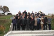 Учасники конференції на екскурсії  містом.