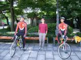 2008.09 Корея велополіція!