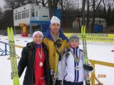 Команда університету з лижних гонок срібний призер І Всеукраїнської Зимової Універсіади з лижних перегонів