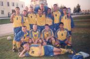 Команда студентів НУБіП України з футболу 2003 р. Тренер Павлів З.М.