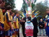 Нагородження на Всеукраїнських сільських спортивних іграх 2003 р. з футболу