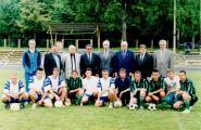 Команда студентів НУБіП України з футболу 2002 р. Тренер Павлів З.М.