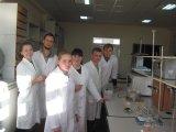 Лабораторне заняття з визначення свіжості м'яса. Проводить доцент Т.А. Антонюк