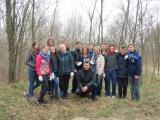 """Студенти першого курсу 1 групи """"Захисту рослин"""" разом з куратором та працівниками зеленбуду"""