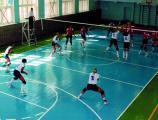 Змагання з волейболу в ігровій залі навчального корпусу №9