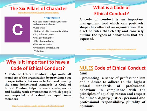 ethical conduct important The most important influence on ethical behavior in the workplace is overall company culture, which determines whether employees are valued or belittled and whether stakeholders are treated with.