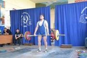 Чемпіонат Києваз важкої атлетики серед студентів. Техніка виконання вправи. 2 - тяга спиною.