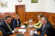 Зустріч з ректором Дипломатичної академії України при Міністерстві Закордонних Справ України