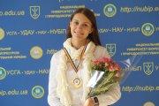 Людмила Смик - студентка гуманітарно-педагогічного факультету, майстер спорту України з радіоспоту