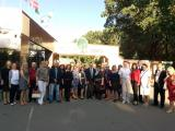 Учасники конференції на екскурсії у Фельдман Екопарку
