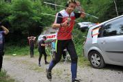 """Старт 3-го дня змагань """"Course ARDF Les 4 jours de L`Aigoual 2014"""" у вправі 144 МГц"""