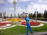 2014.09 Казахстан, монументальний комплекс Байтерек - одна з головних споруд Астани,  столиці Казахстану