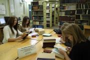 Гуртківці у бібліотеці - 2012