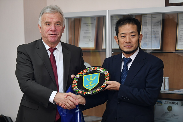 НУБіП отримав технічну допомогу від Японії