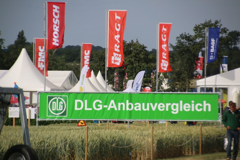 DLG-Feldtage competition in Germany: successful debut of