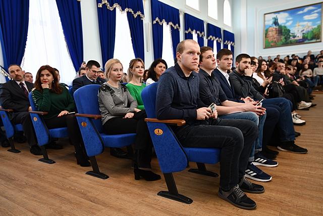 Гість університету – перший президент часів незалежної України Леонід Кравчук